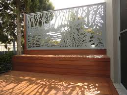Relaxing on the deck in the afternoon sun, admiring your stunning new  privacy screen.
