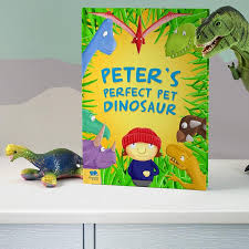 take your little one on an adventure to find the perfect pet dinosaurpersonalised pet dinosaur story book