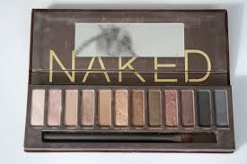the original palette is mostly shimmery neutral colors and 2 matte browns at the end you can see it has a shimmery black and gray