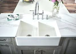 Double Bowl Apron Front Sink White Farmhouse Explore  Fine In   Ikea86