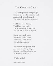 ┄⊱♡⊰ The Goodbye Ghost ⊱♡⊰┄┄ WwwThewishfulbox On Beauteous Poem Quotes