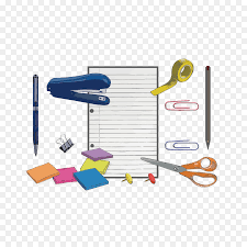 decorative office supplies. Paper Stationery Office Supplies - Creative Work Office Elements Decorative
