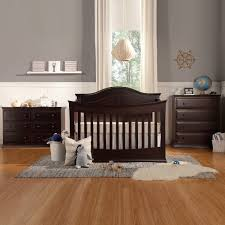 davinci 3 piece nursery set meadow 4 in 1 convertible crib 4 drawer tall and 6 drawer double dresser in dark java free