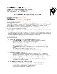 Bookkeeper Job Description Templates Ideas Of Bookkeeper Job Descriptions Samplebusinessresume 4