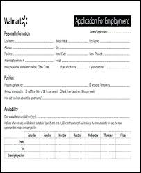 Employee Application Form Template Job 8 Free Documents