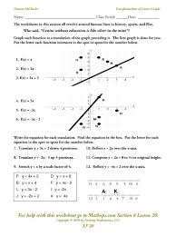 worksheet b5 graphing linear equations answer key tessshlo
