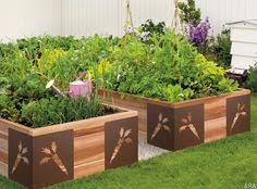 Small Picture 4x4 raised bed vegetable garden Fasten each tier on to the one