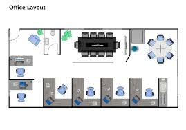 Free Office Layout Design Template Floor Plan Creator How To Make A Floor Plan Online Gliffy