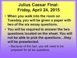 julius caesar final academic english ppt  3 julius caesar