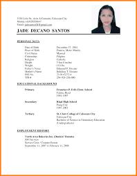 Resume Letter Philippines Ideas Of Sample Cover Letter For Job