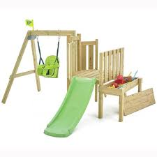 tp forest toddler wooden playframe