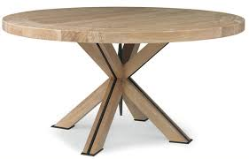 60 round dining table wood