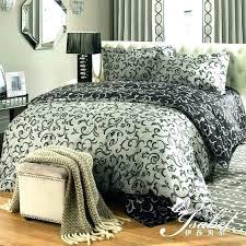 black damask bedding and white comforter sets set popular
