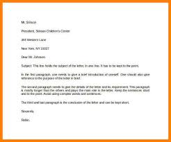Letter To Business Template Sample Formal Letter In Business Template 9 Formal Letter For