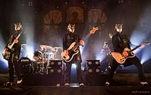 Ghost's music has been categorized in many genres, critics have classified them as hard rock,838485868788 ghost's satanic theme has proven problematic for the group, especially in the united states. Ghost Swedish Band Wikipedia