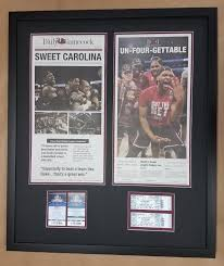 Columbia – Frame Newspapers Gamecock Shop Framed