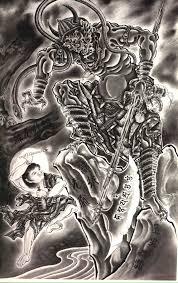 100 демонов хориоши йи 47 работ картины художники фотографы на
