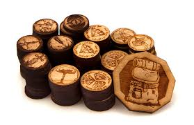 Wooden Game Tokens Awesome Adventure Tokens Team Covenant