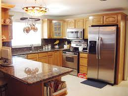 Small Picture Honey Oak Kitchen Cabinets Home Design Traditional Columbus