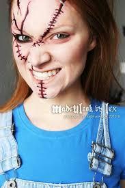 chucky makeup costume makeup