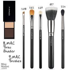 makeup kit items names in hindi mac