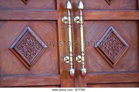 exterior brass door furniture uk. ornate wooden exterior door and brass handles, dawoodi bohra mosque, northolt, london uk furniture uk m