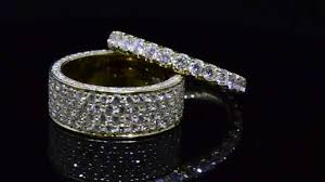 Men And Women S Diamond Wedding Band Eternity Rings Designed By