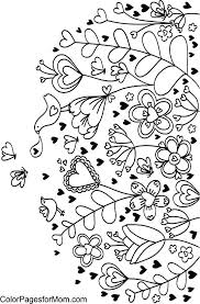 Human Heart Coloring Pages Coloring Heart Coloring Page Enchanting