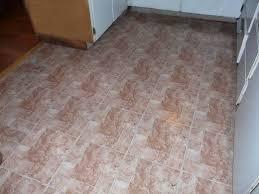 finished l and stick vinyl tile floor