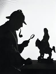 Sherlock Holmes Silhouette Wallpaper