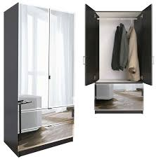 fanciful mirrored armoire ikea wardrobe large closet with mirror jewelry cabinet for uk furniture in living