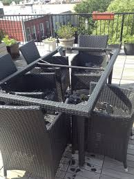 patio table shattered what now