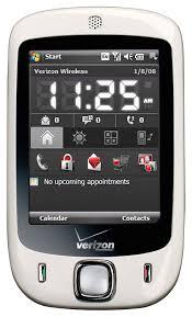 Verizon Bluetooth Compatibility Chart Htc Touch Xv6900 Phone White Verizon Wireless
