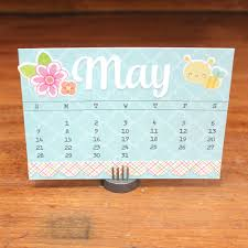 3d Paper Flower Calendar Doodlebug Design Inc Blog Calendar Challenge Fun 3d