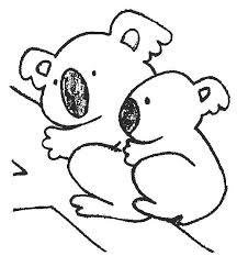 koala coloring page 5