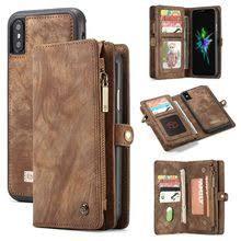 Best value Genuine Leather Wallet <b>Flip Case for Apple</b> – Great ...
