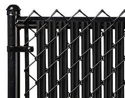 Image Paolo Vi Amazon Ridged Slats Slat Depot Single Wall Bottom Locking Privacy Slat For 3 4 5 6 7 And 8 Chain Link Fence 6ft Black