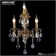 100 guarantee crystal wall light brass color wall sconces lamp bronze wall brackets light for bedroom living room kids chandelier pendant chandelier from