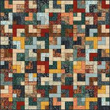lets quilt something retro cabin free quilt pattern jelly roll