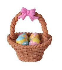 shop easter decor floral and accessories at jo ann fabric craft littles resin easter basket eggs