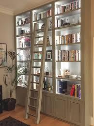bookshelf lighting ideas. these shelves in black with back bookshelf lighting ideas