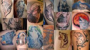значение тату воющий волк клуб татуировки фото тату значения эскизы