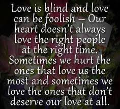 Love Is Blind Pictures Photos And Images For Facebook Tumblr Extraordinary Blind Quotes