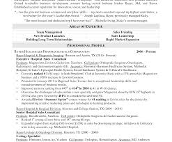 Sales Representative Resume Samples Inside Rep Sample Medical Cv ...
