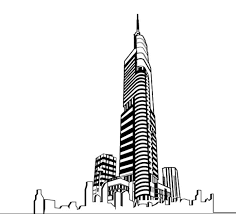 architectural drawings of skyscrapers. Hand Drawing Skyscrapers Design Vector Architectural Drawings Of 1