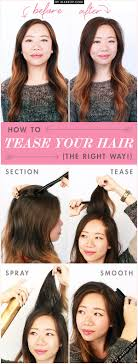 Teasing Your Hair Meaning