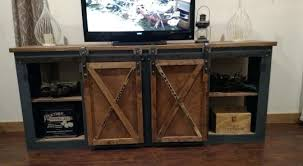 barn door media center. Barn Door Media Console Doors Garage Cabinet The Bombshell Sliding . Center O