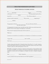 Sample Field Trip Permission Slips School Triprm Template Evaluation High Field Permission Slip