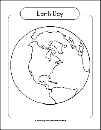 Small Picture Earth Day Globe Coloring Page Freeology