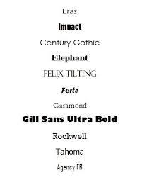 Fonts That Get Your Business Card Noticed Resources